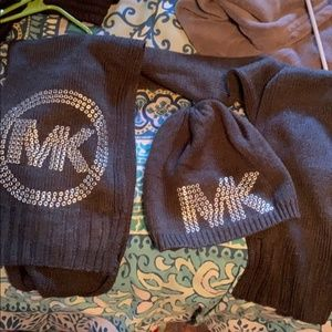 MK Winter Hat and Scarf